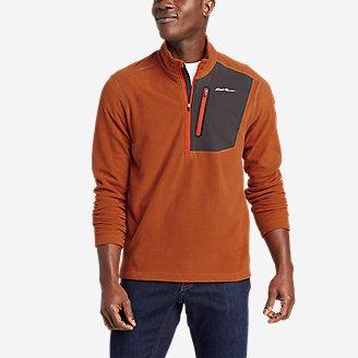 Men's Cloud Layer Pro 1/4-Zip Pullover in Orange