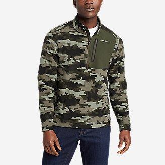 Men's Cloud Layer Pro 1/4-Zip Pullover in Green