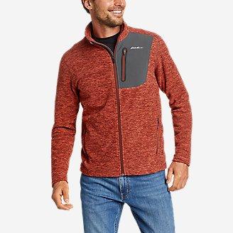 Men's Cloud Layer Pro Full-Zip Jacket in Brown