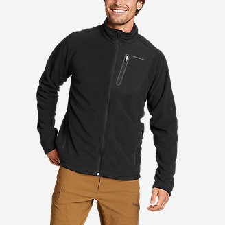 Men's Cloud Layer Pro Full-Zip Jacket in Black