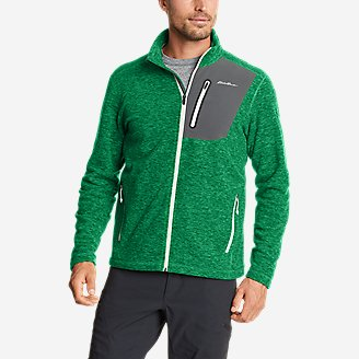 Men's Cloud Layer Pro Full-Zip Jacket in Green