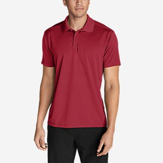 Men's Resolution Short-Sleeve Polo Shirt in Red