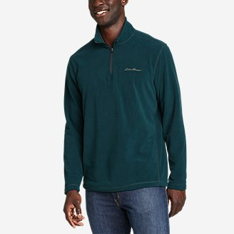 Men's Quest Fleece 1/4-Zip Pullover in Green
