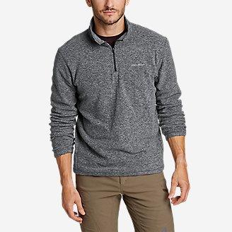 Men's Quest Fleece 1/4-Zip Pullover in Gray