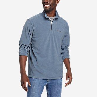 Men's Quest Fleece 1/4-Zip Pullover in Blue