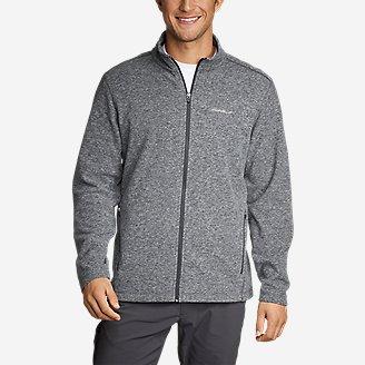 Men's Quest Fleece Full-Zip Jacket in Gray