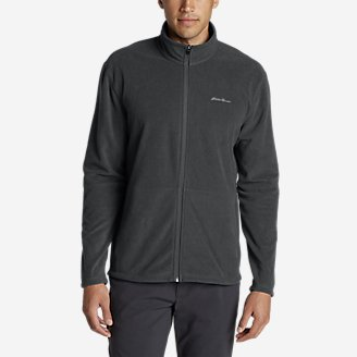 Men's Quest Fleece Full-Zip Jacket in Gray