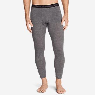 Men's Heavyweight FreeDry Merino Hybrid Baselayer Pants in Gray