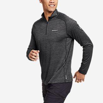 Men's Resolution Long-Sleeve 1/4-Zip in Gray