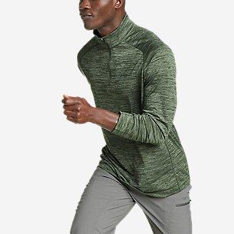 Men's Resolution Long-Sleeve 1/4-Zip in Green