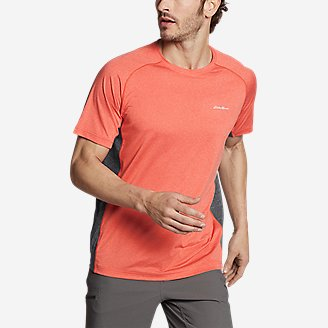 Men's TrailCool Short-Sleeve T-Shirt in Red