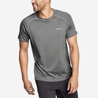 Men's TrailCool Short-Sleeve T-Shirt in Gray