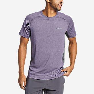Men's TrailCool Short-Sleeve T-Shirt in Purple