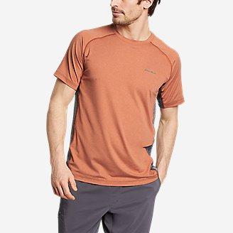 Men's TrailCool Short-Sleeve T-Shirt in Orange