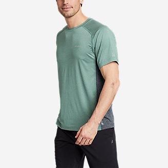 Men's TrailCool Short-Sleeve T-Shirt in Blue