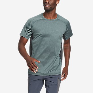Men's TrailCool Short-Sleeve T-Shirt in Green
