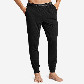Men's Rest and Recovery Pants in Black