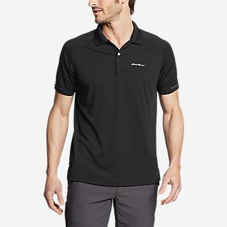 Men's Resolution Pro Short-Sleeve Polo Shirt in Black