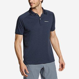 Men's Resolution Pro Short-Sleeve Polo Shirt in Blue