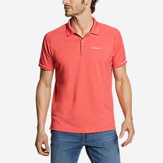 Men's Resolution Pro Short-Sleeve Polo Shirt in Red