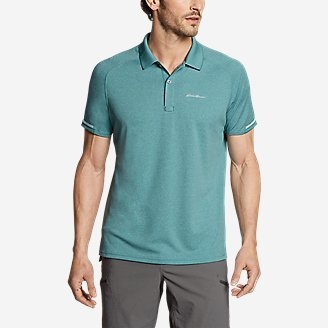 Men's Resolution Pro Short-Sleeve Polo Shirt in Green