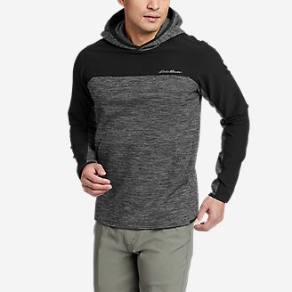Men's On The Run Pullover Hoodie in Gray