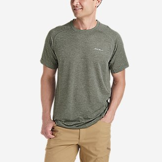 Men's Ventatrex Mesh Short-Sleeve Crew in Green