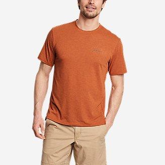 Men's Boundless Short-Sleeve T-Shirt in Orange