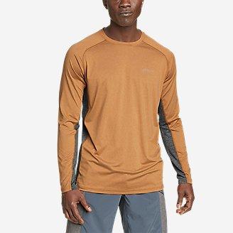 Men's TrailCool Long-Sleeve T-Shirt in Yellow