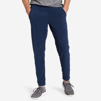 Men's Quest Fleece Pants in Blue