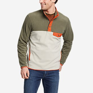 Men's Chutes Snap Mock in Green