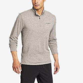 Men's Boundless Long-Sleeve 1/4-Zip in Gray