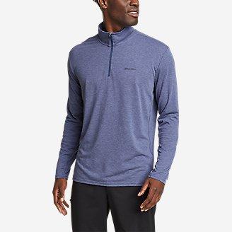 Men's Boundless Long-Sleeve 1/4-Zip in Blue