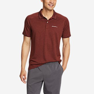 Men's Resolution Pro Short-Sleeve Polo Shirt 2.0 in Brown