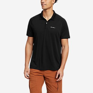 Men's Resolution Pro Short-Sleeve Polo Shirt 2.0 in Black