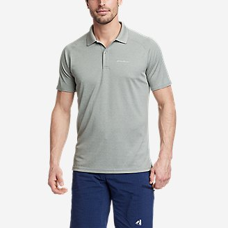 Men's Resolution Pro Short-Sleeve Polo Shirt 2.0 in Gray