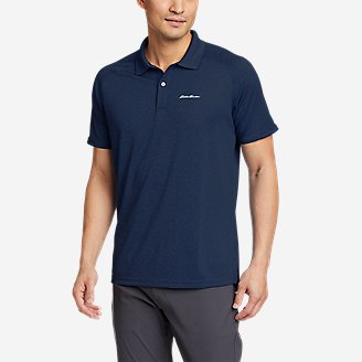 Men's Resolution Pro Short-Sleeve Polo Shirt 2.0 in Blue