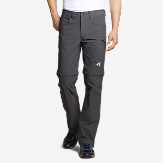 Men's Guide Pro Convertible Pants in Gray