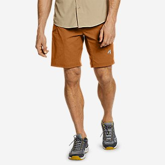 Men's Guide Pro Shorts - 9' in Red