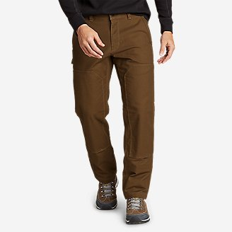 Men's Impact Canvas Pants in Brown