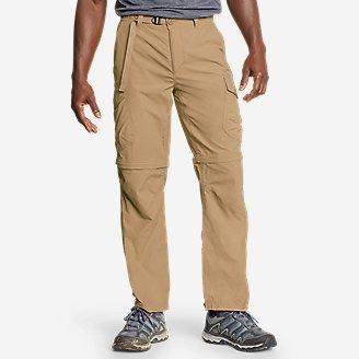 Men's Exploration 2.0 Packable Convertible Pants in Brown