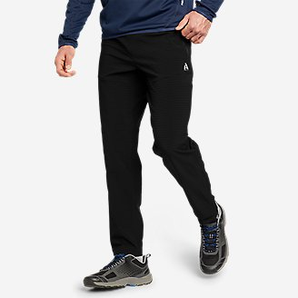 Men's Guide Grid Pull-On Pants in Black