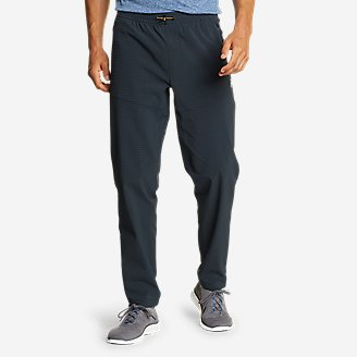 Men's Guide Grid Pull-On Pants in Blue