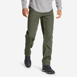 Men's Capacitor Flex Canvas Work Pants in Green