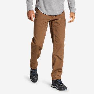 Men's Capacitor Flex Canvas Work Pants in Brown