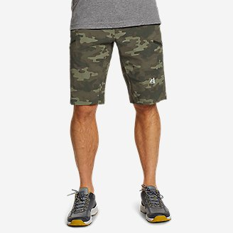 Men's Guide Pro Shorts - Print in Green