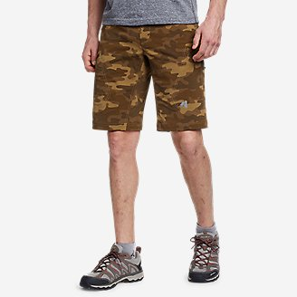 Men's Guide Pro Shorts - Print in Brown