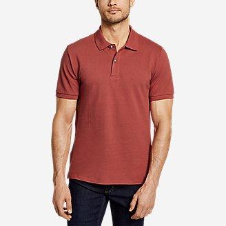 Men's Classic Field Pro Short-Sleeve Polo Shirt in Orange