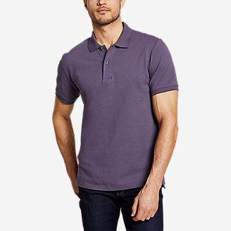 Men's Classic Field Pro Short-Sleeve Polo Shirt in Purple