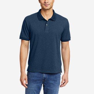 Men's Classic Field Pro Short-Sleeve Polo Shirt in Blue